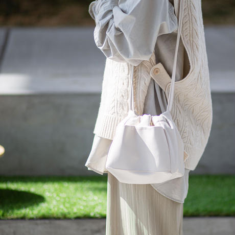 【今だけタイムセール】巾着なのに斜めがげ&リバーシブル!?シーンレス、シーズンレスに活躍するマストバイ巾着ショルダーRIVERSIBLE PURSE SHOULDER