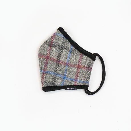 通気性の良いツイード素材のファッションマスク tweed musk