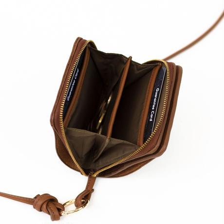 """【予約販売】ストレスフリーにファッションを楽しむ """"key&miller wallet shoulder"""""""