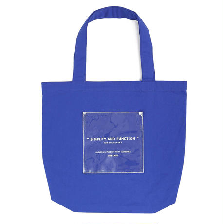 NAME CLEAR POCKET TOTE (VBOM-4471)