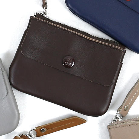 KEY&COIN MINIMAL LEATHER WALLET (BBOM-699)