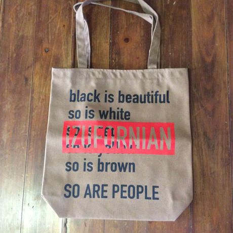 IZUFORNIAN  cotton canvas tote bag  BG001 【M】