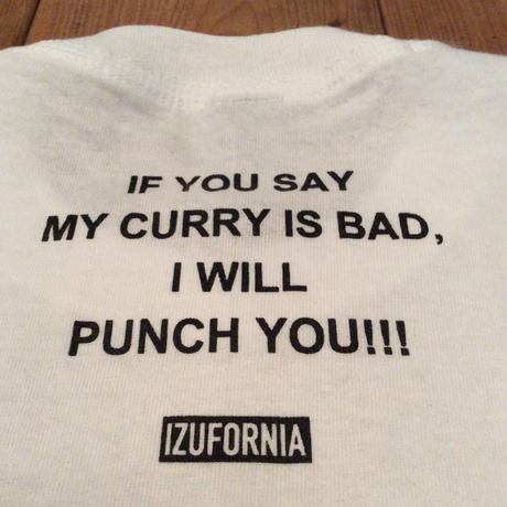 IZUFORNIA CURRY SPICE KIT+T-shirt