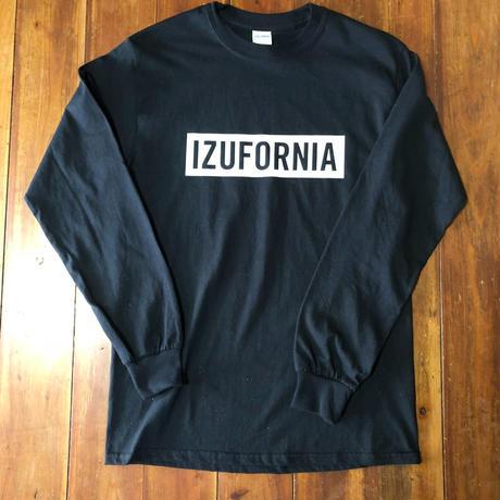 IZUFORNIA L /S 002  【BK×WH】ブラック×ブラック
