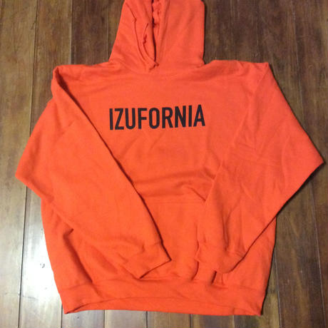 IZUFORNIA HOODED PK003  L/S 【orange】