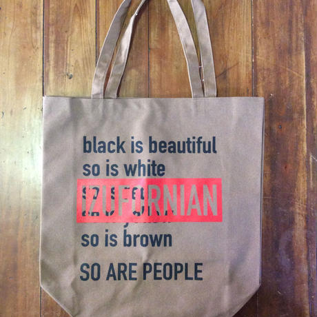 IZUFORNIAN 14oz cotton canvas totebag  BG002 【 L】