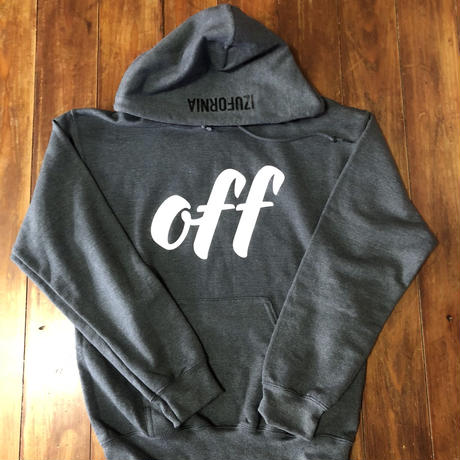 off HOODED PK008  L/S 【DH】