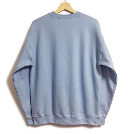 THE CHARLIE TOKYO EMBROIDERY LOGO SWEATSHIRT (SAX BLUE)