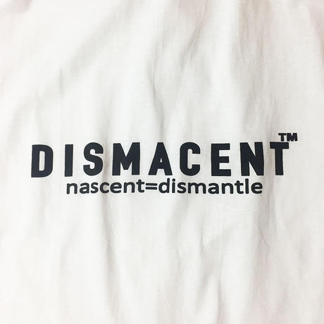 DISMACENT SIDE PRINT S/S TEE (WHITE)