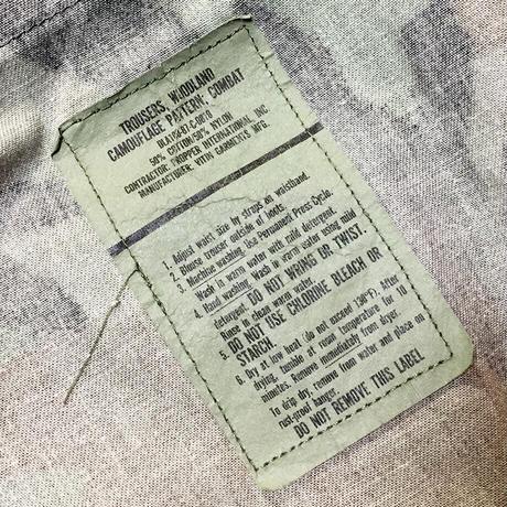 DISMACENT BDU JKT × TROUSERS REMAKE MILITARY COAT #656