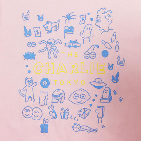 THE CHARLIE TOKYO × aimi odawara S/S T-SHIRT (L.PINK)