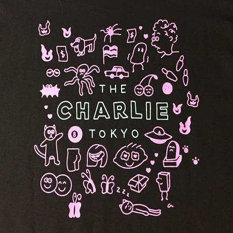 THE CHARLIE TOKYO × aimi odawara L/S T-SHIRT (D.BR)