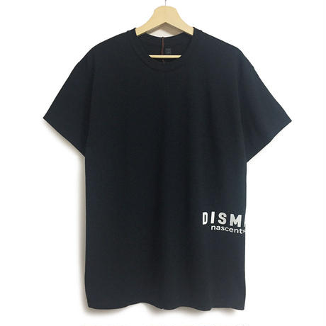 DISMACENT SIDE PRINT S/S TEE (BLACK)