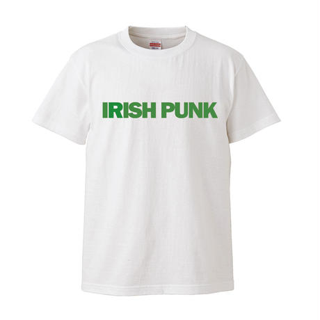 IRISH PUNK S/S Tee WHITE x IRISH GREEN