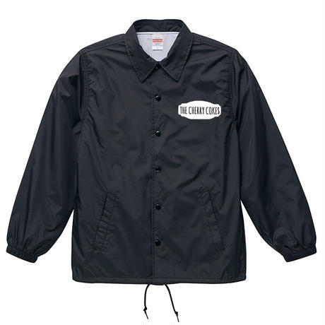 """BRING ME A BEER"" COACH JACKET  /  BLACK"