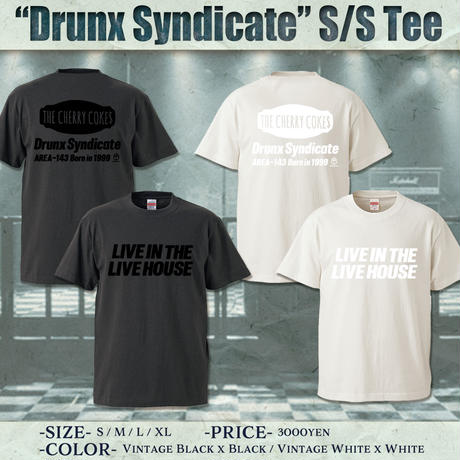 DRUNX SYNDICATE Tシャツ