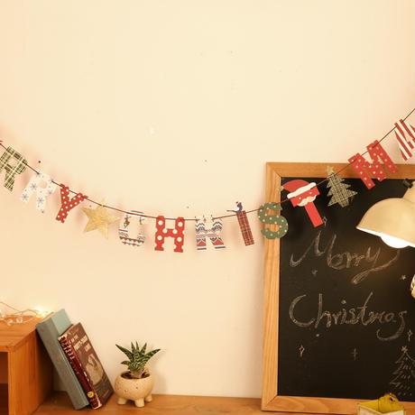 クリスマスガーランド_CHRISTMAS(YX-09)