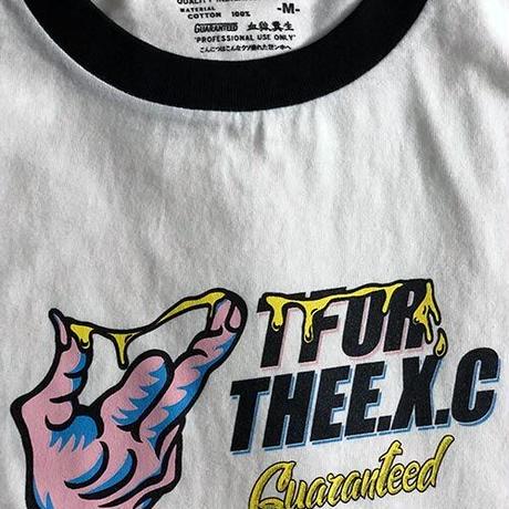 【TFOR】Tシャツ/ホワイト×ブラック
