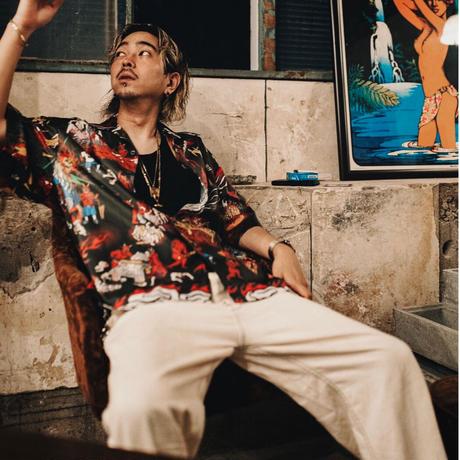 【CHERRYPICK×TheEXC】JIGOKUEZ ALOHA SHIRTS