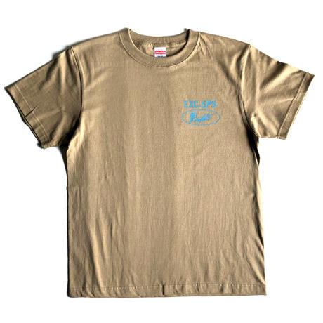 【お土産】Tシャツ/サンドカーキ