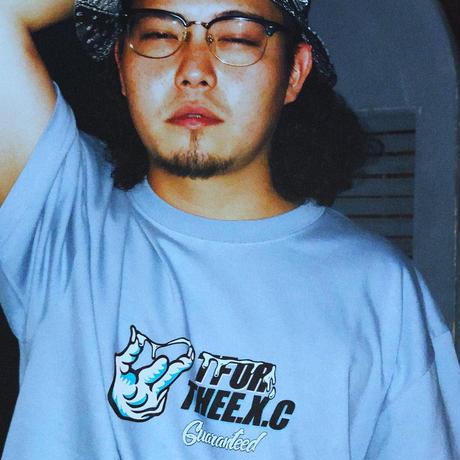 【TFOR】Tシャツ/アシッドブルー