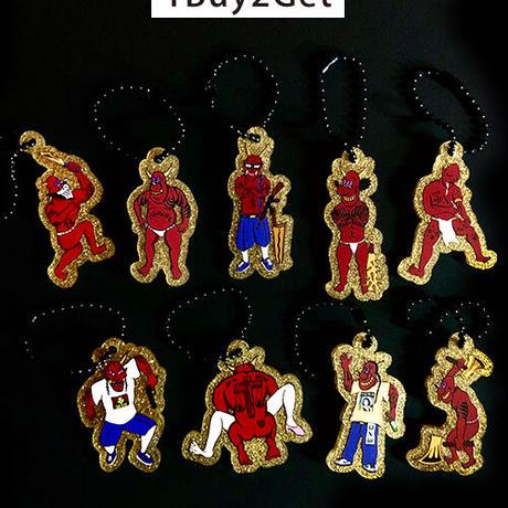 【JIGOKUEZ】金ラメキーホルダー/5種類
