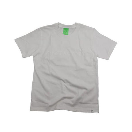 the FACTORY ロゴTシャツ (白×白ロゴ)