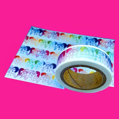 the fuu オリジナルマスキングテープ