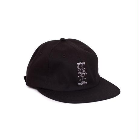 NIGHT MOVES STRAPBACK - BLACK