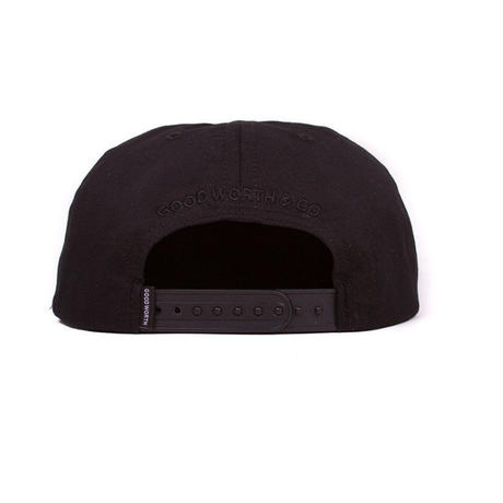 BALLOON SNAPBACK-BLACK