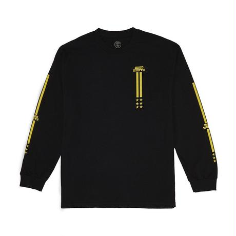 TRACK LONG SLEEVE - BLACK