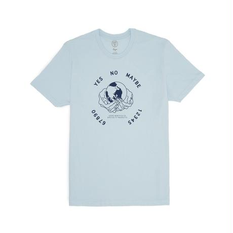 OUIJA TEE - LIGHT BLUE