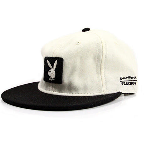 EBBETS FIELD X GOOD WORTH X PLAYBOY - WHITE