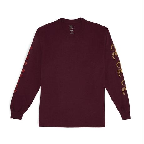 SCORPION LONG SLEEVE - WINE