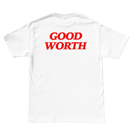 Good Worth Logo Tee - White