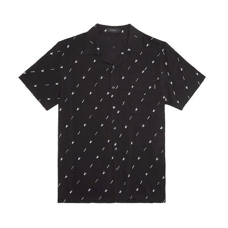 GW X Playboy Button Up - Black