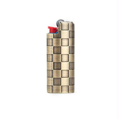 CHECKERED LIGHTER CASE - MINI BIC