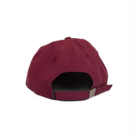 CROWN LOGO STRAPBACK - BURGUNDY