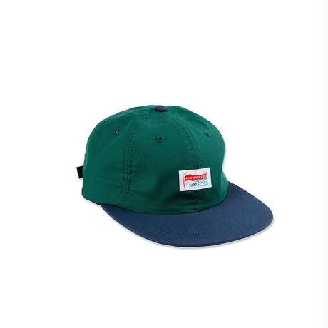 JANE FONDLE STRAPBACK - GREEN/NAVY
