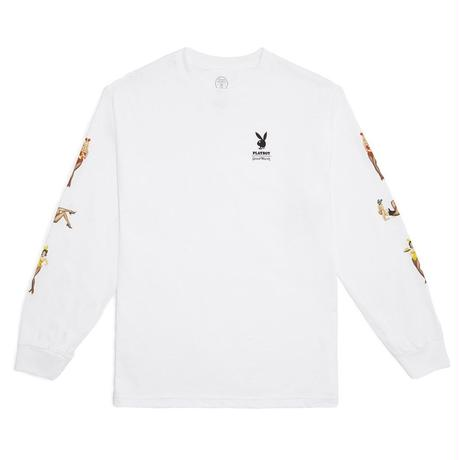 GW X PB Playmate Long Sleeve - White