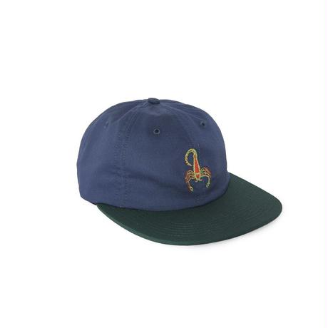 SCORPION 6 PANEL STRAPBACK - NAVY/HUNTER