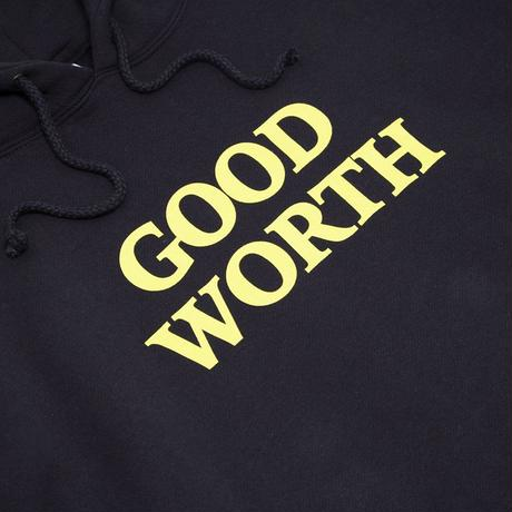 Good Worth Logo Hoodie Navy