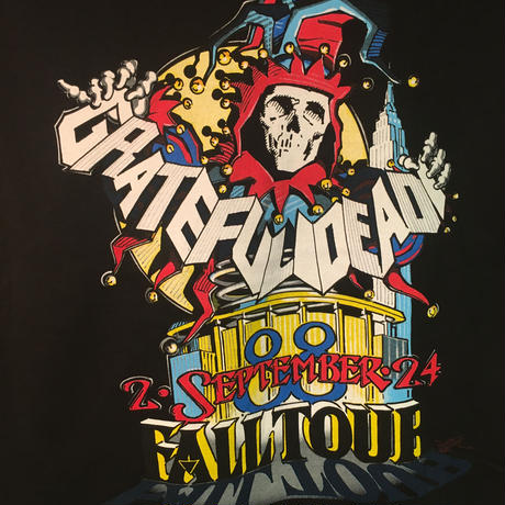 Size S gratefuldead【OLD PRINT】JACK IN THE BOX MSG '88 T