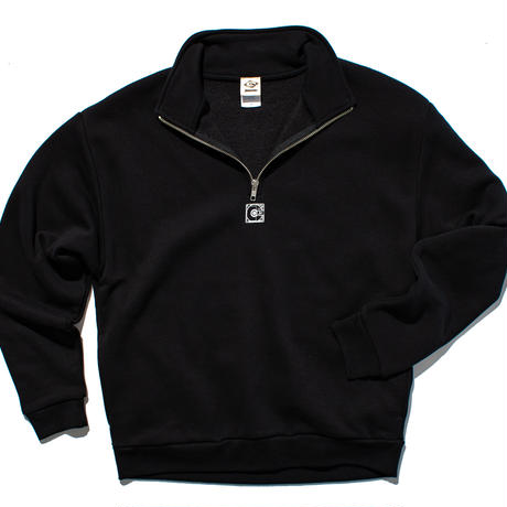 jmx mémoire PULL OVER SWEAT // BLACK