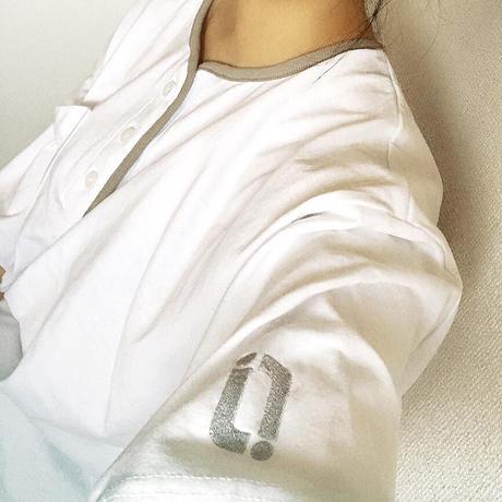 【受注】relaaax Shirt_White