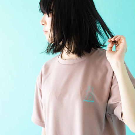 jmx promenade ONEPIECE TEE ペールピンク
