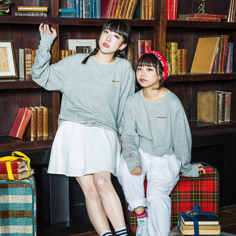 jmx #daisukyyclub SWEAT SHIRT GIRLFRIEND