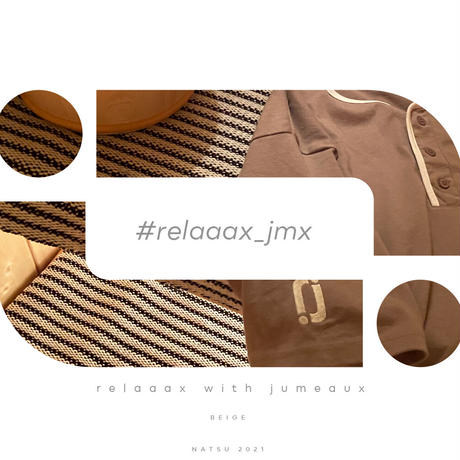 【受注】relaaax Shirt_Beige