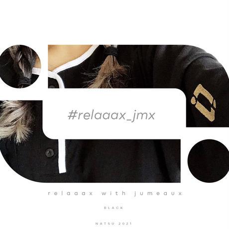 【受注】relaaax Shirt_Black