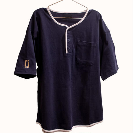 【受注】relaaax Shirt_Navy